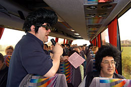 Elvis Bus Tour © Tony Bartholomew