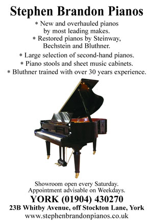 Stephen Brandon Pianos, York