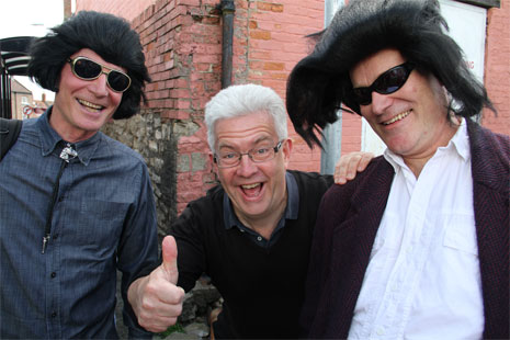 Ian McMillan and Elvis Photo © Simon Thackray