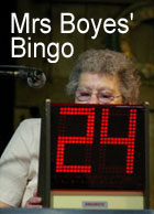 Mrs Boyes' Bingo