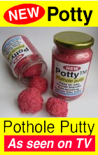 Pothole putty