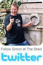Follow Simon at The Shed