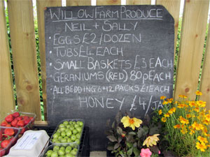 Willow Farm Produce, Butterwick, near Brawby, Malton