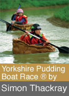 Yorkshire Pudding Boat Race by Simon Thackray